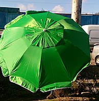 Зонт торговый (пляжный) с клапаном, диаметр 2 м., фото 1