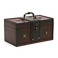 Сундук-шкатулка Home4You BAO-1  24x13x12cm  brown  wood