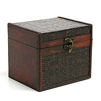 Сундук-шкатулка Home4You BAO-1 16x13x13cm  brown  wood