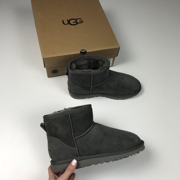 Женские зимние Ugg Mini Grey