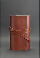 Кожаный софт-бук 1.0 Коньяк. Ручная работа, фото 1