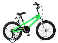 Детский велосипед 18 Royal Baby Freestyle Steel зеленый