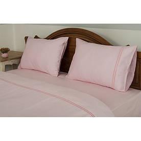 Постельное белье Tac Hotel Life - Kio V-2 pembe розовый евро