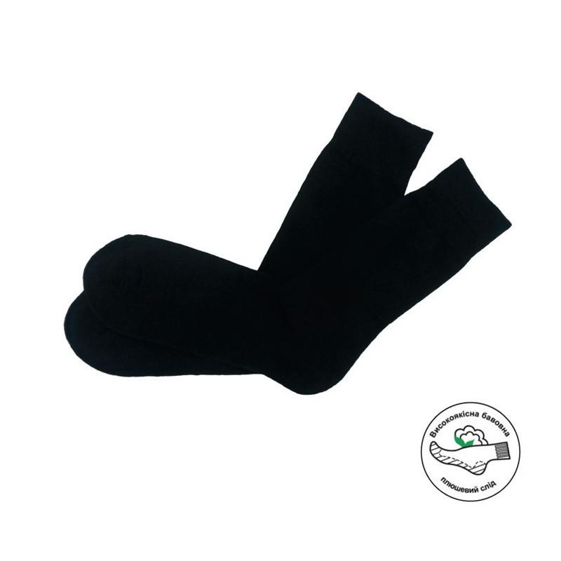 Чоловічі шкарпетки з утепленою стелькою MSC-101 atlantic