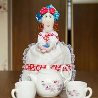 Грелка на заварочный чайник Хозяйка