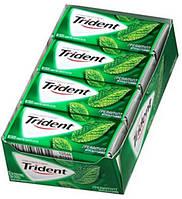 Trident spearmint club pack жевачка сладкая мята