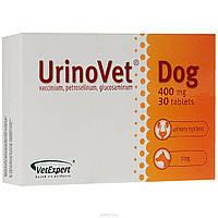 """УРИНОВЕТ ДОГ URINOVET DOG """"VETEXPERT"""", для восстановления функций мочевой системы у собак, 30 таблеток"""
