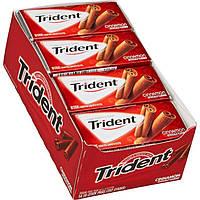 Trident gum cinnamon 14 пачек жвачка корица