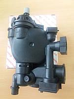 Корпус (улитка) насоса Immergas Star/Mini 1.028554 с группой патрубка обратки 1.028555