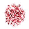 Новогодний шар на елку (наполненный конфетами) 70 г, фото 7