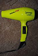 Фен для волос профессиональный BaByliss Pro Luminoso Giallo Ionic