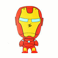 Стикер Iron Man для ноутбука, смартфона, дорожного пластикового чемодана