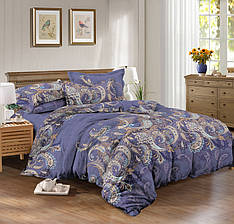 Семейный комплект постельного белья сатин (8652) TM KRISPOL Украина