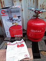 Комплект газовый кемпинговый INTERTOOL GS-0008