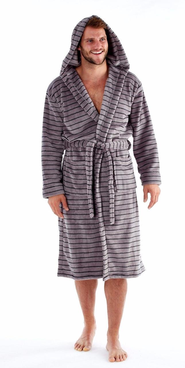 Теплый плюшевый халат . Англия.Harvey James MN000137