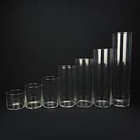 Подсвечники для свечей, вазы, цилиндры. Колбы для насыпных свечей., фото 1