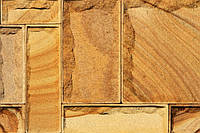 """Луганский песчаник плитка """"Руст"""" кратная 5 см полированная, фото 1"""