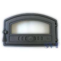 Чугунная дверца хлебной печи 424 SVT 225/290x470 мм