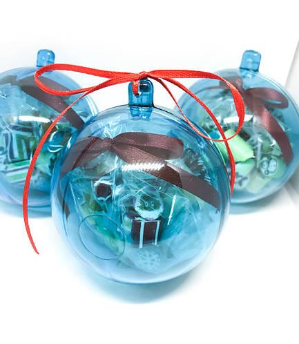 Новогодний шар на елку (наполненный конфетами) 70 г