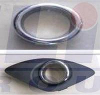 Заглушка левая бампера переднего с отверстиями для противотуманной КИА Сид KIA CEED 12.06- 3267995