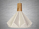 Белый подвесной лофт светильник, фото 5