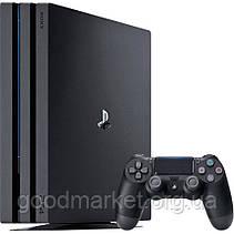 Стационарная игровая приставка Игровая приставка Sony PlayStation 4 Pro (PS4 Pro) 1TB Black, фото 2