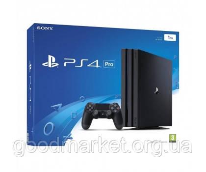 Стационарная игровая приставка Игровая приставка Sony PlayStation 4 Pro (PS4 Pro) 1TB Black