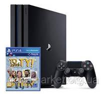 Стационарная игровая приставка Игровая приставка Sony PlayStation 4 Pro (PS4 Pro) 1TB Black, фото 3
