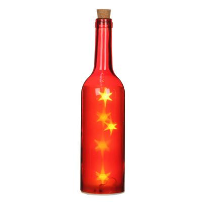 "Декоративная бутылка ""House of Seasons"", цвет красный"