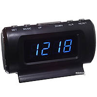 Автомобильные часы Temperature Clook KS-782A-1
