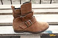 Ботинки женские зимние Catwalk. Оригинал. Замша, 39р. Сток.