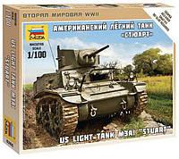 """Американский легкий танк M3A1 """"Стюарт"""""""