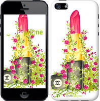 """Чехол на iPhone 5 Помада Шанель """"4066c-18-8079"""""""
