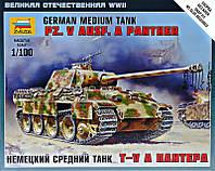 """Немецкий средний танк Т-V A """"Пантера"""""""