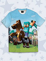 Детская футболка Minecraft knight