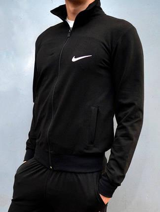 Мужская одежда - Кофта На Замке Nike - черная, фото 2