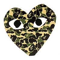 Стикер Camouflage Heart для ноутбука, смартфона, дорожного пластикового чемодана