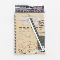Набор SKETCH BOOK Курсы рисования с карандашами Danko toys