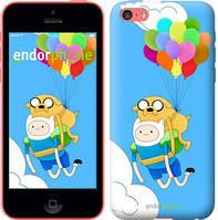"Чехол на iPhone 5c Adventure time. Finn and Jake v3 ""2453c-23-8079"""