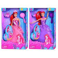 Кукла Defa Lucy 8188 Русалочка - Принцесса платье-трансформер