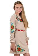 Детское платье вышиванка подростковое, фото 1