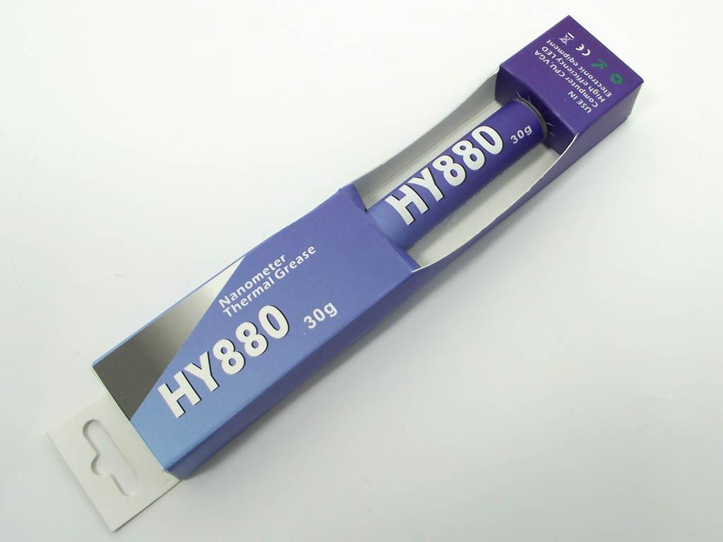 Термопаста Halnziye HY880 Карбоновая Gray. Шприц: 30 гр, теплопроводно
