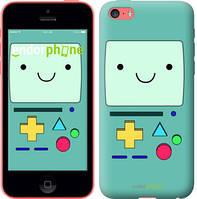 """Чехол на iPhone 5c Adventure time. Beemo """"1209c-23-8079"""""""