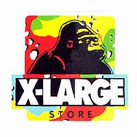Стикер X-LARGE Store для ноутбука, смартфона, дорожного пластикового чемодана