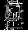 Смеситель TEKA INOX H1(INX 914) нержавеющая сталь, фото 2