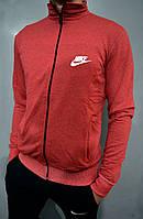 Спортивная мужская кофта на змейке Nike трикотаж