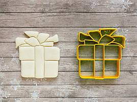 Коробка з подарунком - Форма для печива і пряників