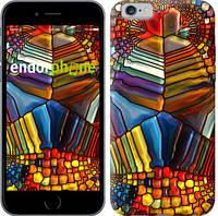 """Чехол на iPhone 6 Разноцветный витраж """"3343c-45-8079"""""""
