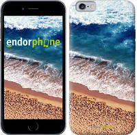 """Чехол на iPhone 6s Берег моря """"3041c-90-8079"""""""