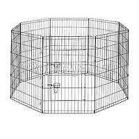 Вольер для щенков Savic ДОГ ПАРК (Dog Park), цинк, 8 панелей, 61*91см